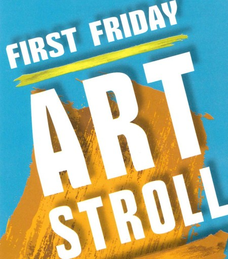 First Friday Art Stroll Logo